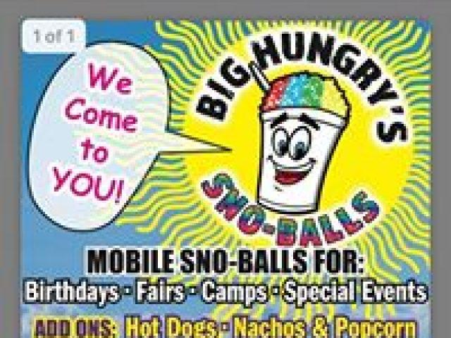 Big Hungry's Sno-Balls
