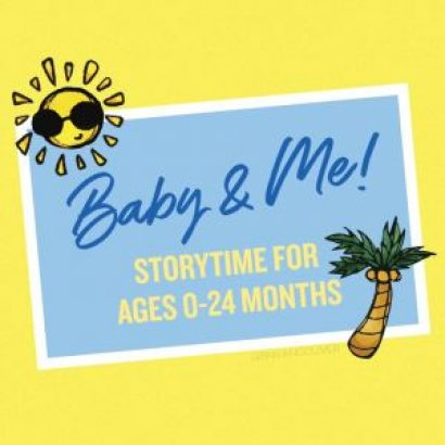 Baby & Me Storytime Featuring Cookie