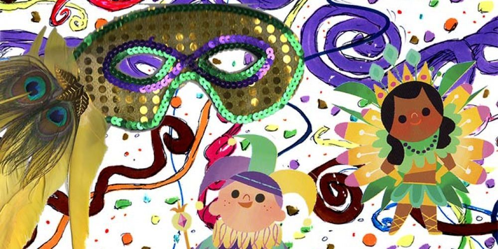 Mardi Gras Camps on Both Shores