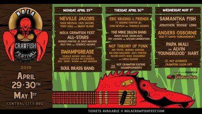 NOLA Crawfish Festival