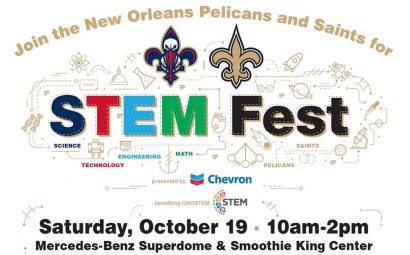 Pelicans & Saints STEM Fest