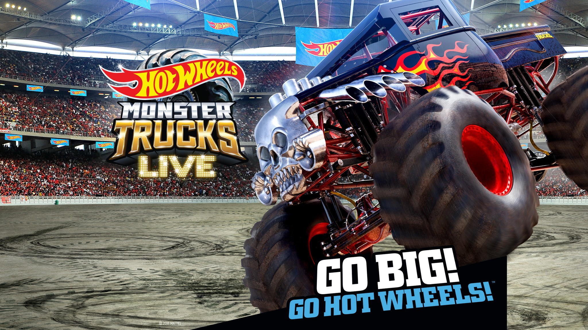 Hot Wheels Monster Trucks Live Kids Family New Orleans